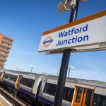 A London Overground service at Watford Junction