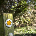 Several countryside walks are available from Abbey Line stations